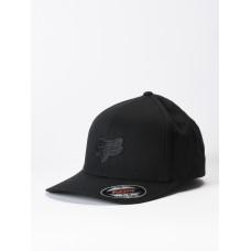 Fox Legacy Flexfit BLACK/BLACK baseball čepice - XS-S