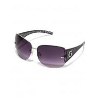 GUESS brýle Rimless Shield Sunglasses černé vel.