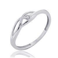 Couple Zlatý dámský prsten Rhonda 4565045 Velikost prstenu: 49