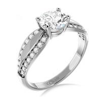 Couple Zlatý dámský prsten Gemima 6660280 Velikost prstenu: 50