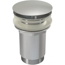 Sifonová vpusť 5/4 pro um.bez přepadu chrom kov velká, neuzavíratelná (ALCAPLAST Plast) A396 (A396)