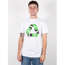 Etnies Recycle Sk8 white pánské tričko s krátkým rukávem - XL
