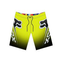 Fox Cntro Fluo Yellow pánské plavecké šortky - 34