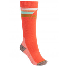 Burton EMBLEM HIBISCUS PINK kompresní ponožky - S\M