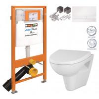 JOMO - SET JOMO Duofix modul pro závěsné WC + tlačítko + montážní sada + sedátko + WC CERSANIT CLEANON PARVA (174-91100900-00 PA1)