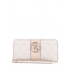 GUESS peněženka Bluebelle Logo Large Zip-Around Wallet růžová vel.