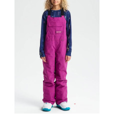 Burton SKYLAR BIB GRAPESEED zateplené kalhoty dětské - XL
