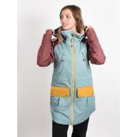 Burton PROWESS TRLLIS/RSBRWN/HVSTGD zimní bunda dámská - XS