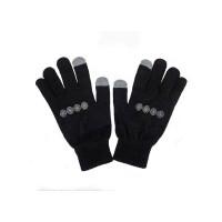 Independent Chain Cross black pánské prstové rukavice