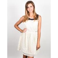Picture Malou off white společenské šaty krátké - S