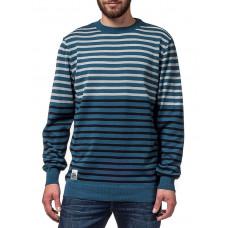 Horsefeathers PERFORMER blue pánský značkový svetr - S