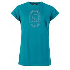 Horsefeathers SELENE harbor blue dámské tričko s krátkým rukávem - S