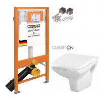 JOMO - SET JOMO Duofix modul pro závěsné WC + montážní sada + sedátko + WC CERSANIT CLEANON CARINA (174-91100700-00 CA1)