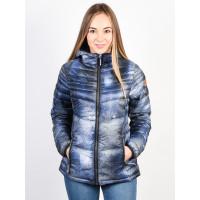 Rehall SALLYAN-R AOP used denim zimní bunda dámská - S