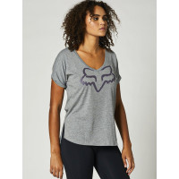 Fox Boundary HEATHER GRAPHITE dámské tričko s krátkým rukávem - XL