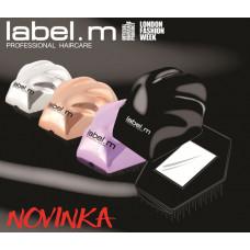 label.m Detangling Brush - Silver/kartáč na rozčesání stříbrný