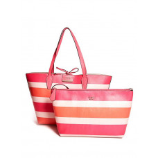 GUESS kabelka Bobbi Tote růžová vel.