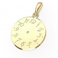 Zlato Zlatý přívěsek Křticí hodiny 6628003