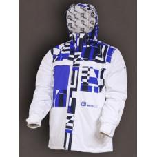 Vehicle LIFTER WHITE - BLUE NAVY/LFT O2 dětská zimní bunda - YS