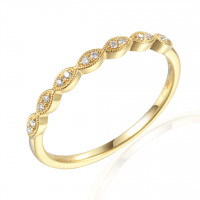 Couple Zlatý dámský prsten Heather 3812423 Velikost prstenu: 54