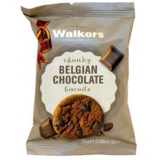 Walkers čokoládová sušenka s kousky čokolády 25g