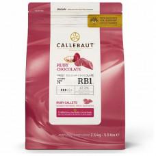 Callebaut Čokoláda RUBY 47% 2,5 kg