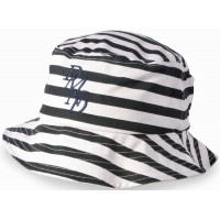 Diamond Supply Co SERIF PALMS MUSCLE NAVY WHITE pánský plátěný klobouk - S-M