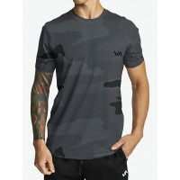 RVCA SPORT VENT CAMO pánské tričko s krátkým rukávem - M