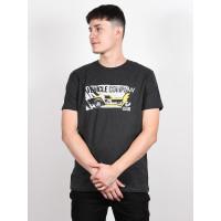 Vehicle CAPTAIN dark heather grey pánské tričko s krátkým rukávem - XL