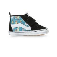 Vans SK8-Hi Crib (LLAMAS) ORCHID/TRUE WHT dětské letní boty - 19EUR