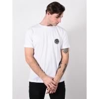 Rip Curl ORIGINAL WETTY OPTICAL WHITE pánské tričko s krátkým rukávem - L