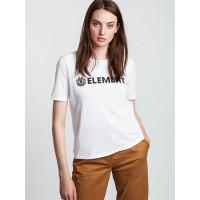 Element LOGO white dámské tričko s krátkým rukávem - S