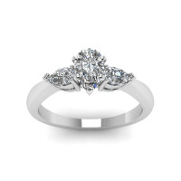 OLIVIE Stříbrný prsten se zirkony 2178 Velikost prstenů: 7 (EU: 54 - 56)