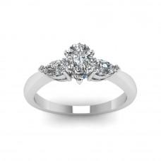 OLIVIE Stříbrný prsten se zirkony 2178 Velikost prstenů: 5 (EU: 47 - 50)