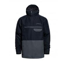 Horsefeathers NORMAN black zimní bunda pánská - M