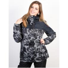 Roxy RX JETTY BLO TRUE BLACK_FLORAL HERRINGBONE zimní bunda dámská - S