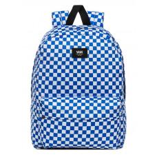 Vans OLD SKOOL III VICTORIA BLUE CHECK studentský batoh