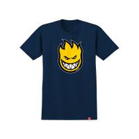 Spitfire BIGHEAD FILL INDIGO/YLW dětské tričko s krátkým rukávem - L