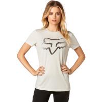 Fox Certain CHARCOAL GREY dámské tričko s krátkým rukávem - L