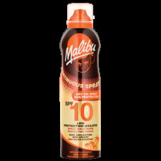 Malibu Continuous Spray Dry Oil SPF 10 175ml