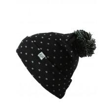 Fox Snow Bunny black dětská zimní čepice