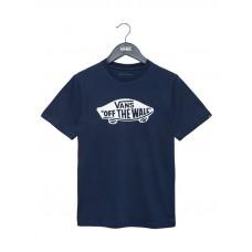 Vans OTW DRESS BLUES/WHITE dětské tričko s krátkým rukávem - XL