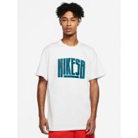 Nike SB FORCE VAST GREY pánské tričko s krátkým rukávem - XL