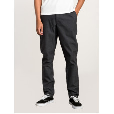 RVCA ALL TIME ARC PIRATE BLACK plátěné sportovní kalhoty pánské - 30