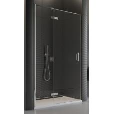 SanSwiss PU13PG 090 10 07 Sprchové dveře jednodílné 90 cm levé, chrom/sklo