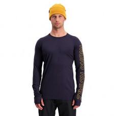 Merino triko MONS ROYALE TEMPLE TECH LS 9 19/20 iron Velikost: M