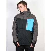 Rehall FAYKE-R wax grey zimní bunda pánská - XL