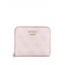 GUESS peněženka Cathleen Small Zip-around Wallet blush vel.