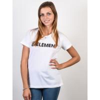 Element ELEMENT LOGO white dámské tričko s krátkým rukávem - M