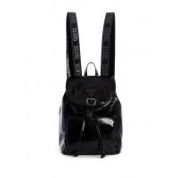 GUESS batoh Originals Logo-strap Backpack černý vel.